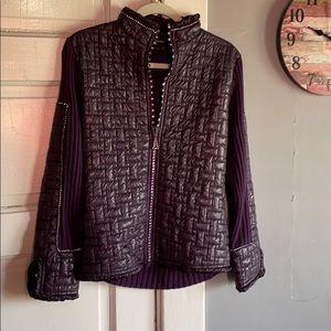 Women Stylish Radzoli Jacket. Size large.